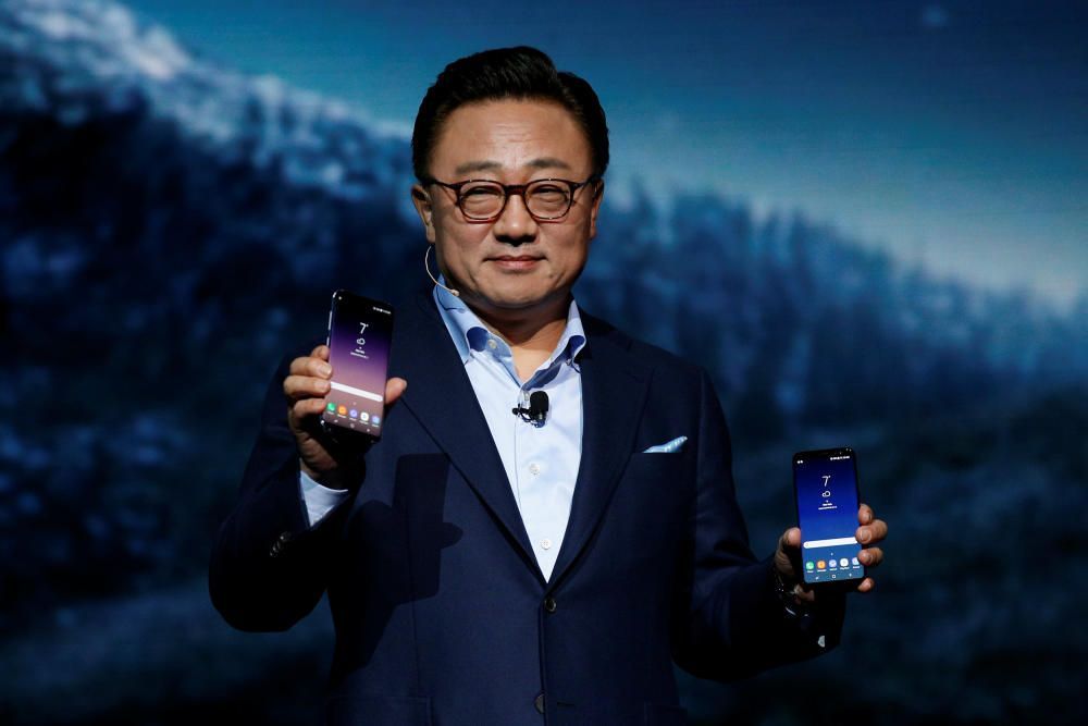 DJ Koh, presidente del departamento de móviles de Samsung.