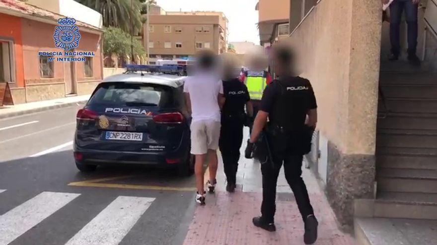Detenido por asaltar a una anciana en Petrer mientras dormía y herirla con unas tijeras