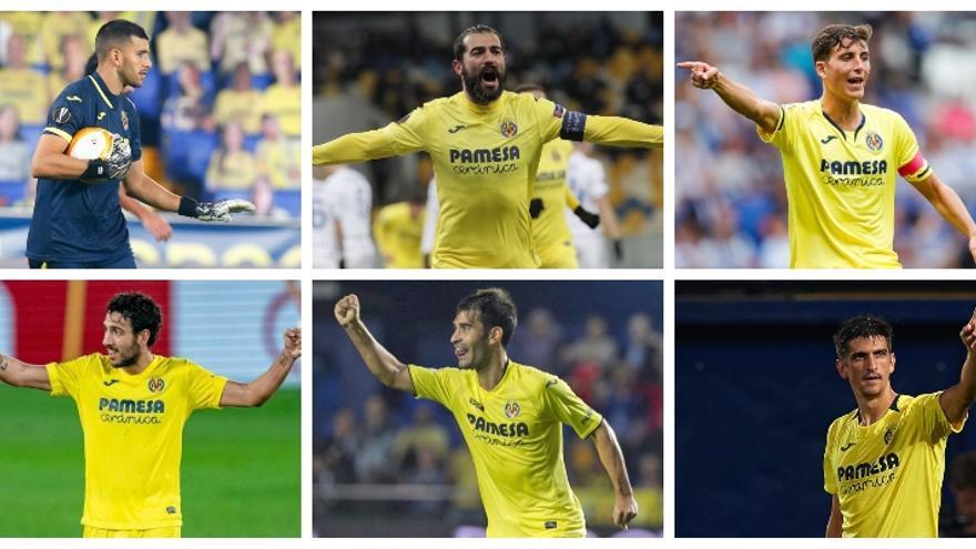La columna vertebral que ha llevado al Villarreal a la final de la Europa League