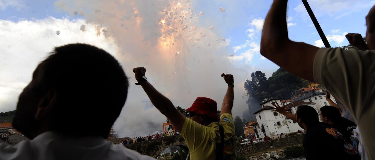 Celebraciones en Cangas del Narcea, en una imagen de una pasada edición.