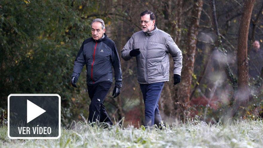 Rajoy despide el año a sus amigos en las redes sociales