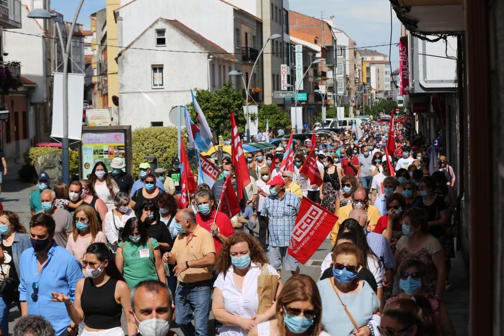 Manifestación en defensa de Thenaisie Provote