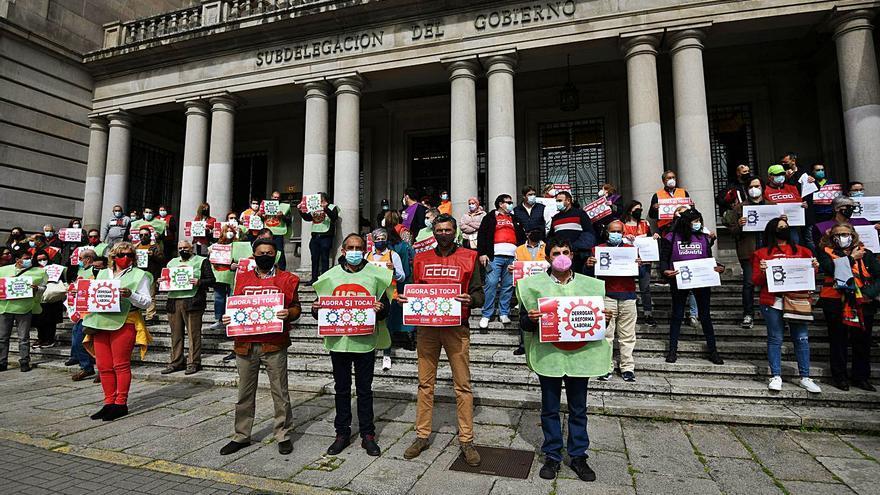 Inician movilizaciones para subir el salario mínimo y contra la reforma laboral