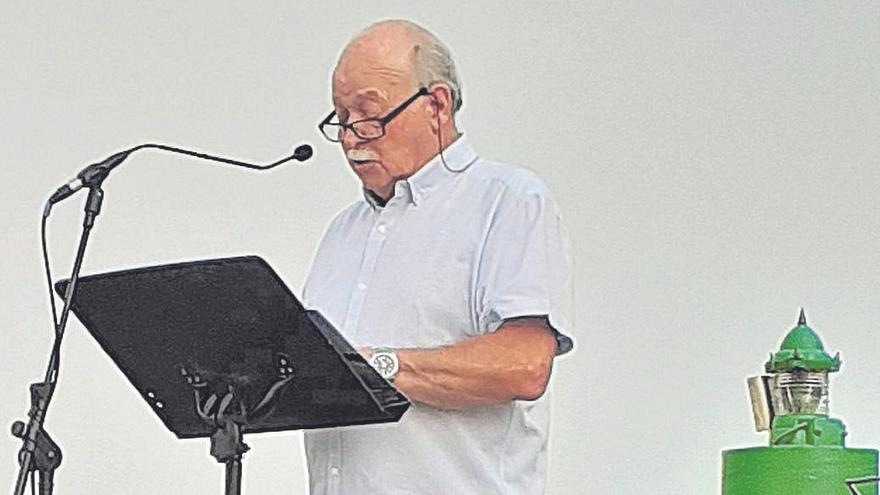 Andreu Tomàs Rigo pronuncia el pregón de las fiestas de Sant Joan en Portopetro