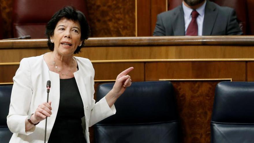La ley de Educación de Celaá pasa el primer examen en el Congreso