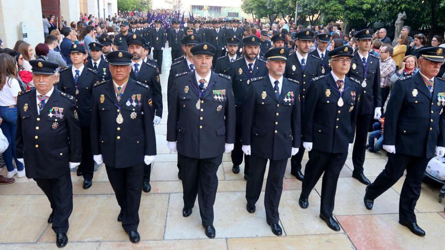 Un escuadrón a caballo de la Policía Nacional abrirá la procesión de El Rico en la Magna