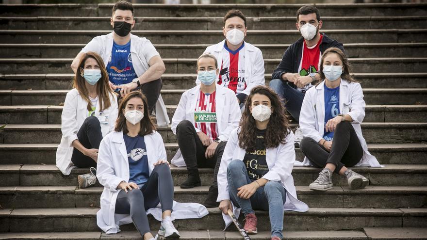Los deportistas asturianos también son campeones de la Medicina