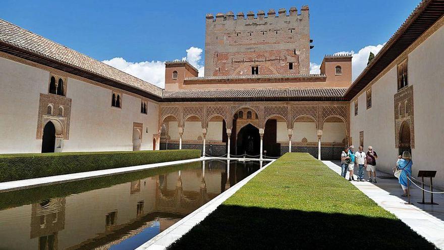 Emoción al volver a la Alhambra