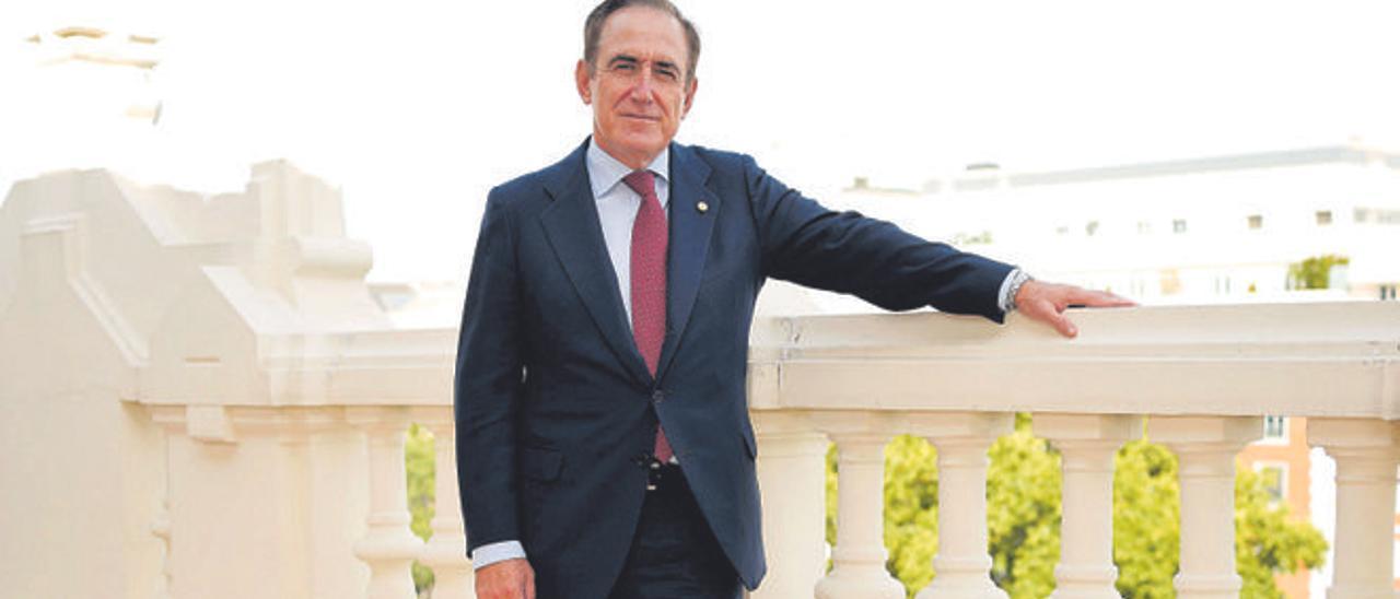 Presidente de Mapfre, Antonio Huertas.