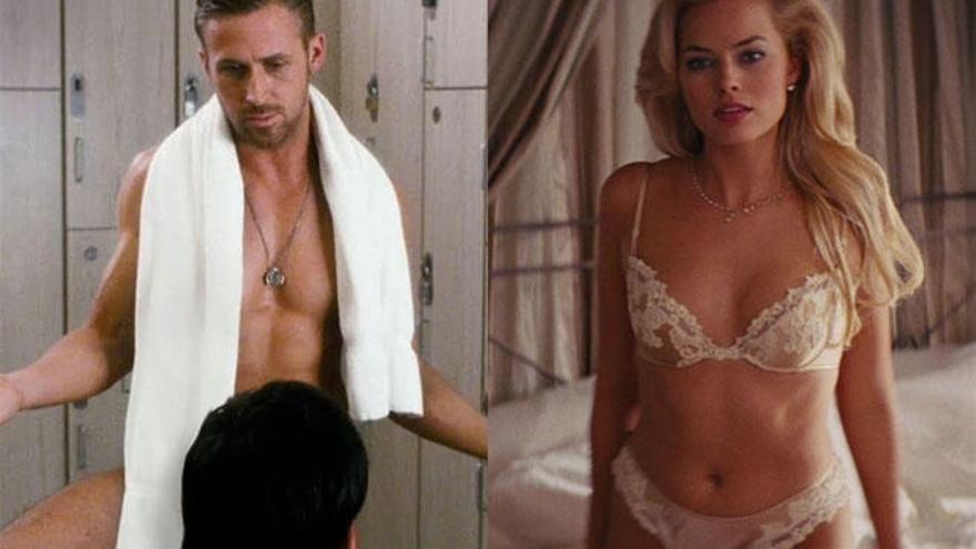 Las actrices se desnudan tres veces más que los actores