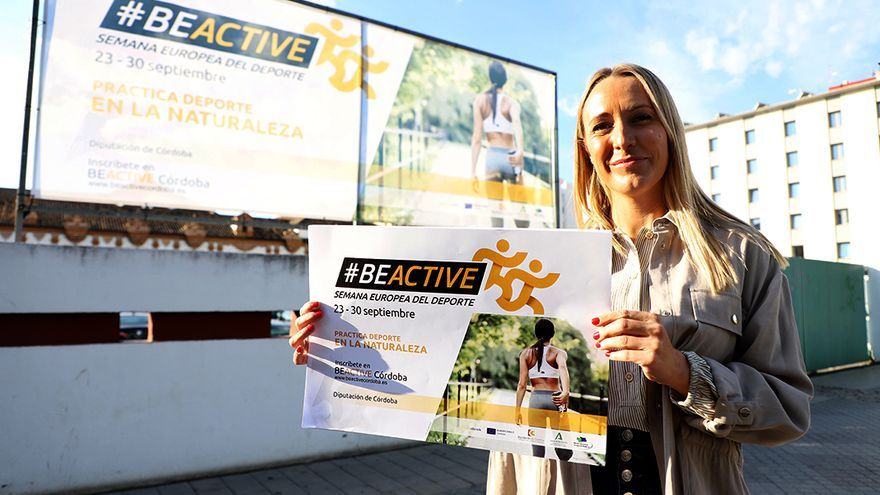 La Diputación lanza la campaña #BeActiveCórdoba
