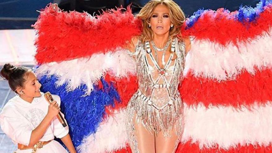Jennifer Lopez muestra un momento inédito con su hija Emme antes de la Super Bowl