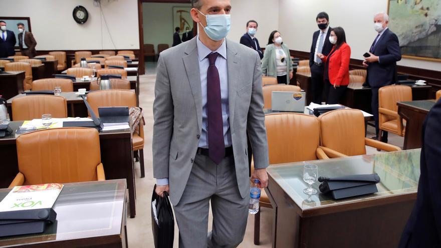 El inspector Morocho ocultó a sus superiores el registro en la sede del PP