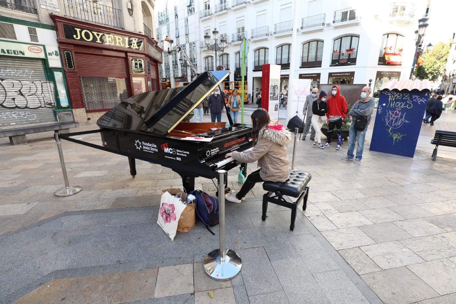 Zaragoza se llena de pianos
