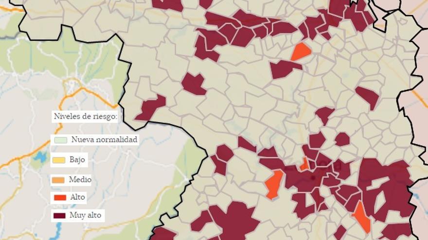 Mapa COVID de Zamora: Alta Sanabria, libre del virus