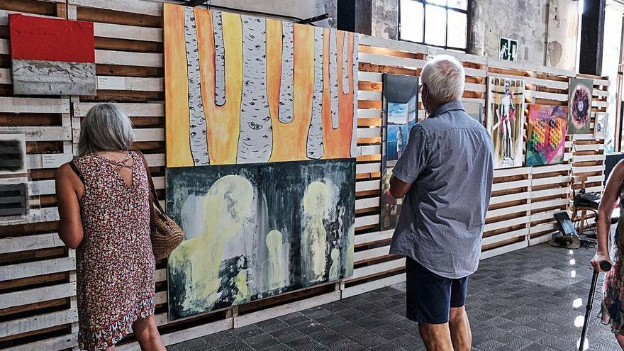 Un centenar d'obres mostren l'art realitzat a Manresa durant els mesos de confinament