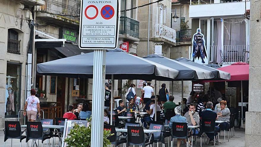 El COVID empieza a dar signos de remitir con bajadas de un caso en Cangas y Moaña