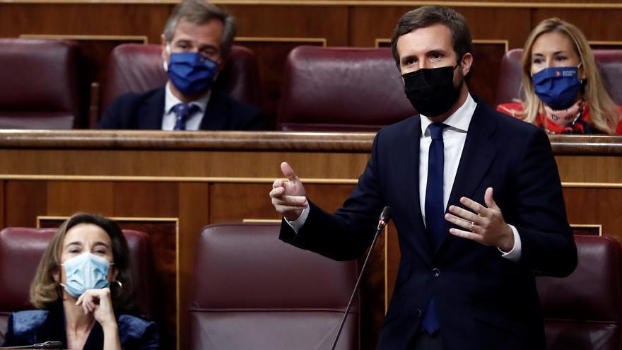 El Pi insta a Pablo Casado a frenar la moción de censura del PP en Maria