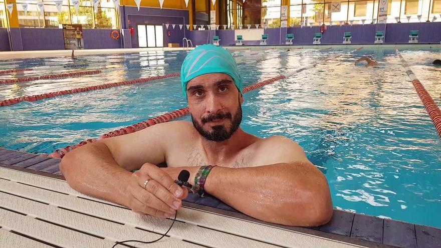 Francisco Javier Camacho: natación y fitness en El Perú Cáceres Wellness
