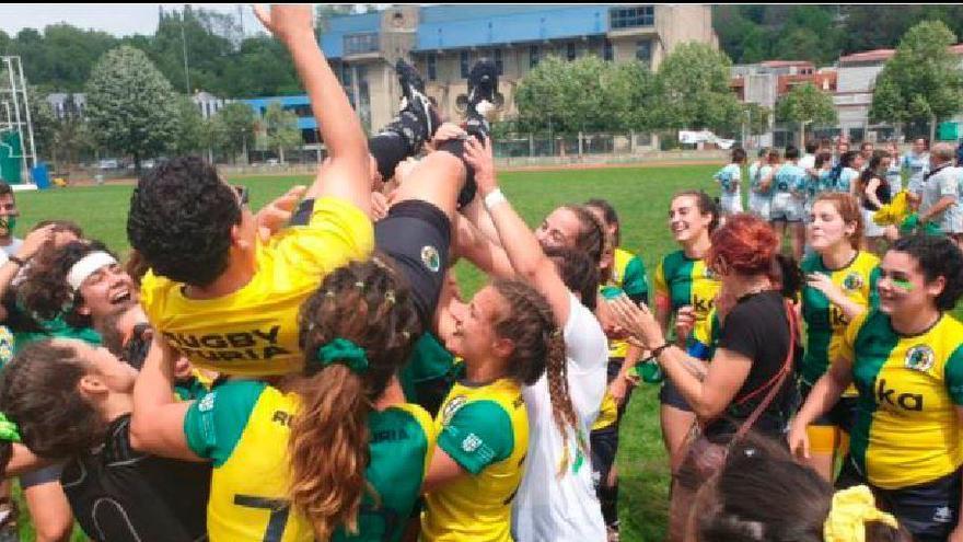 Ascenso del Turia a División de Honor B de rugby