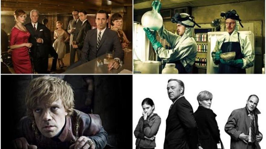 'Breaking Bad', 'Juego de Tronos', 'Mad Men' o 'House of cards', las mejores series