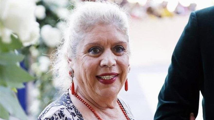 María Jiménez recibe el alta hospitalaria