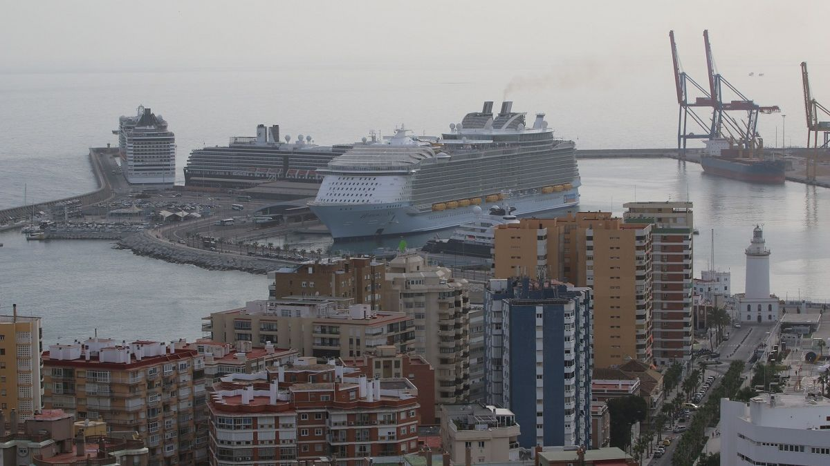 Imagen de archivo de cruceros en 2016.