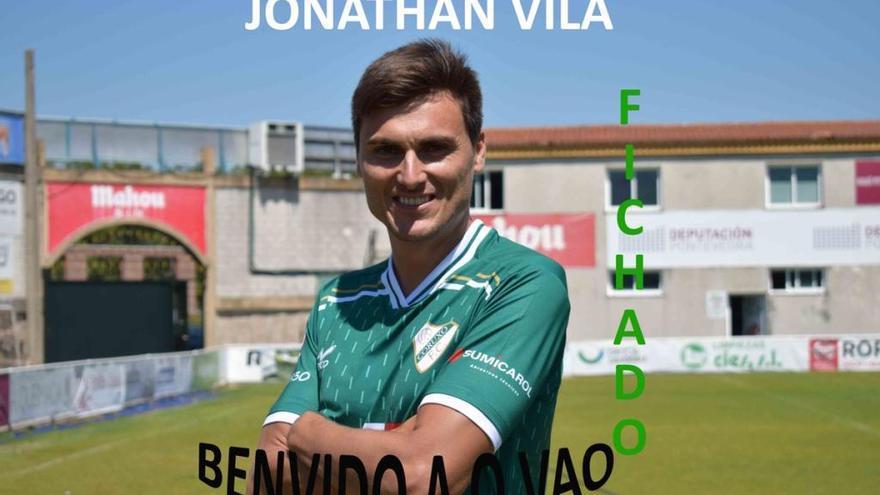 El excéltico Jonathan Vila regresa a Vigo al fichar por el Coruxo