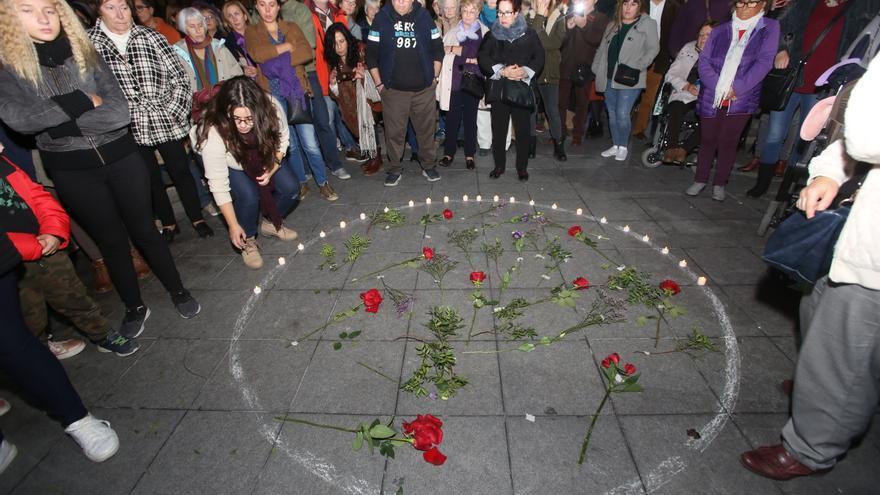 Concentración en Alicante el pasado 25 de noviembre, día internacional contra la violencia machista.