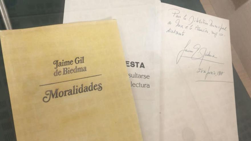 Un vídeo conmemora los 30 años de la muerte de Jaime Gil de Biedma
