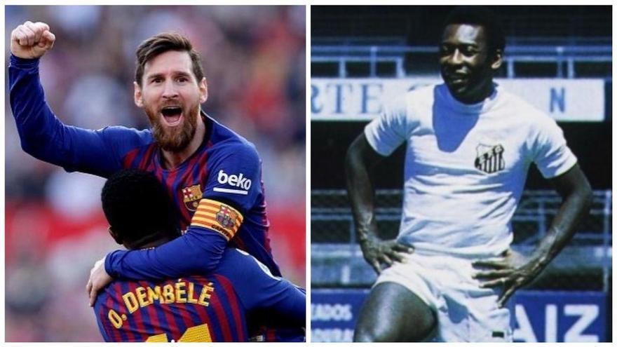 "Messi: ""Muchas gracias Pelé por tu mensaje tan cariñoso"""