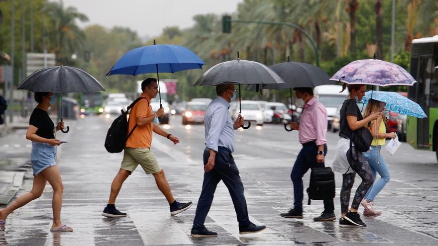 El tiempo en Córdoba: aviso amarillo por tormentas en la Sierra, Los Pedroches y la Campiña