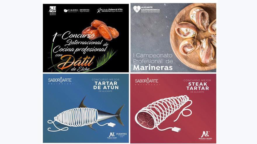 Alicante Gastronómica: Cuatro concursos dirigidos a profesionales del sector de la hostelería y la restauración