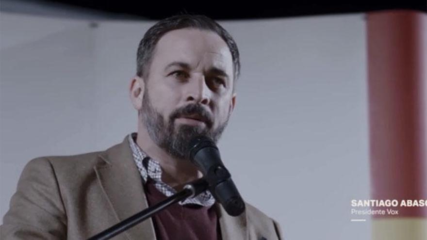 Santiago Abascal en 'Salvados'.