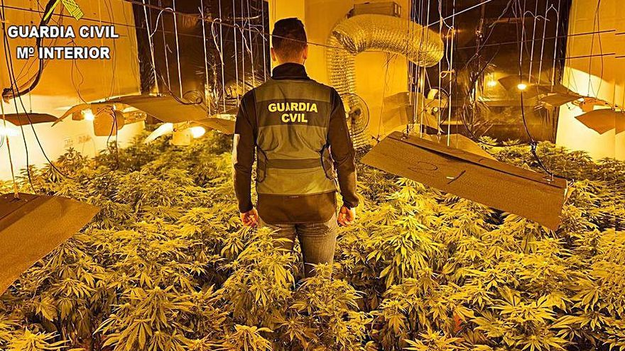 Cuatro detenidos por tráfico de drogas en Castelló y La Pobla