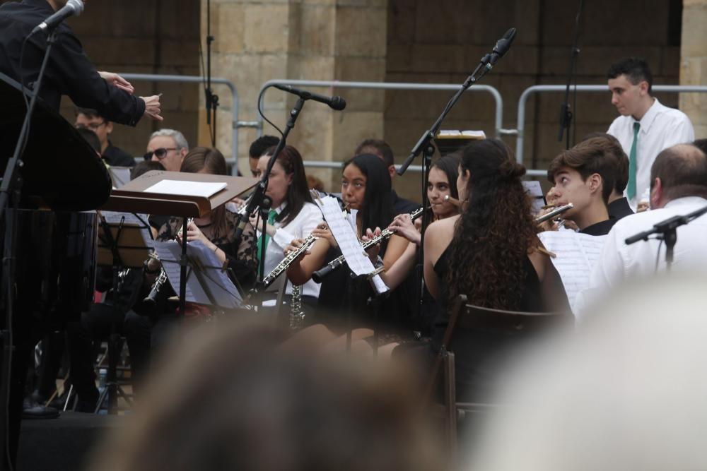 Avilés celebra la Fiesta de la Música.