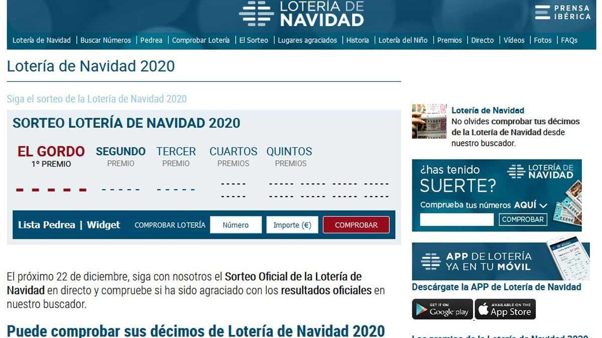 LaLoteriaNavidad.com cumple 10 años.