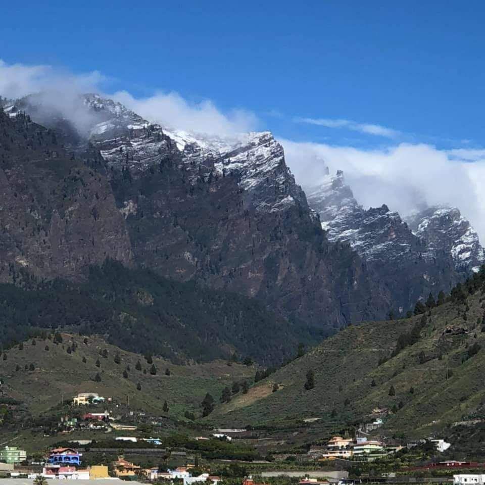 Nevada en La Palma