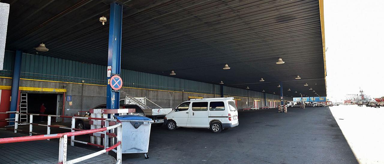 Una exportadora de artículos sanitarios pide la concesión de una nave portuaria