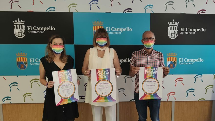 """El Campello activa un servicio LGTBI+ dentro de su campaña """"Caminando hacia la diversidad real"""""""