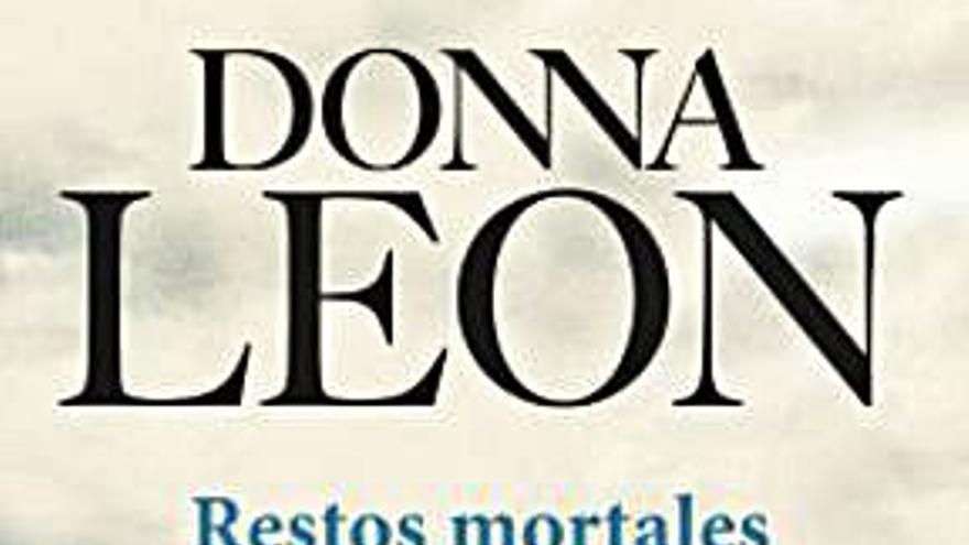 El negro verde de Donna Leon