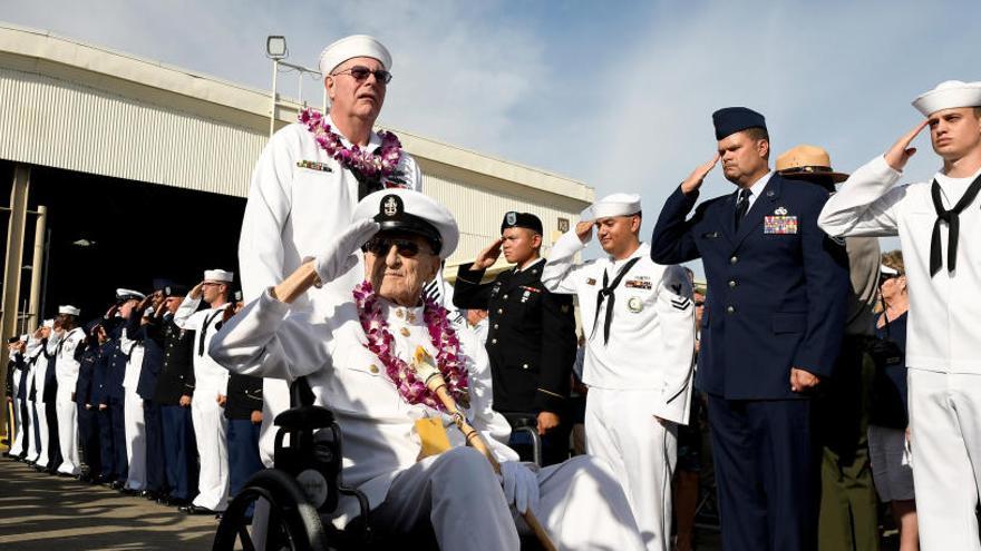 Las heridas de Pearl Harbor, a punto de cerrarse tras 75 años