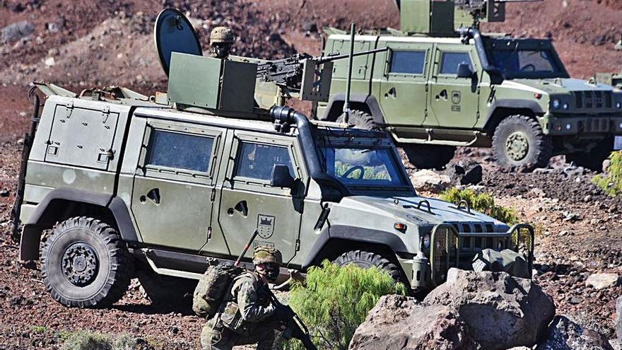 La Brigada Canarias 'se despliega' en 800 intervenciones anticovid