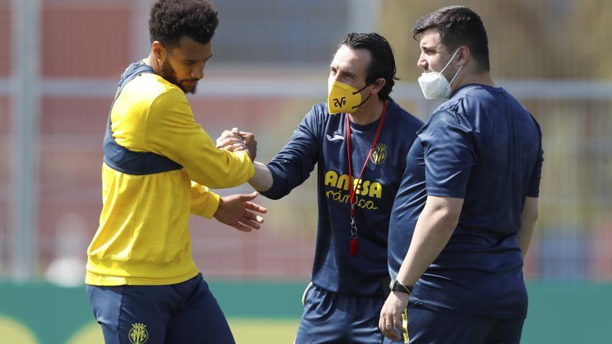 El guiño de Emery a la plantilla del Villarreal antes de viajar a Londres