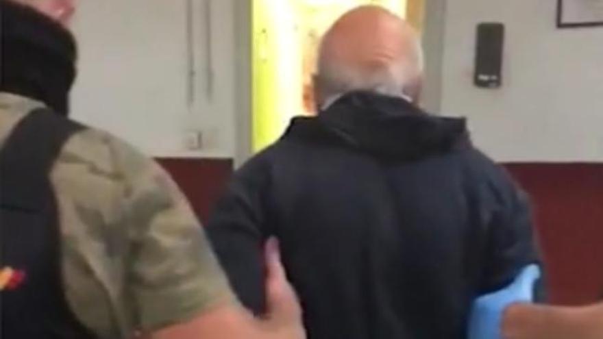 La Policía localiza en Trives al fugitivo buscado por abusar sexualmente de su nieta