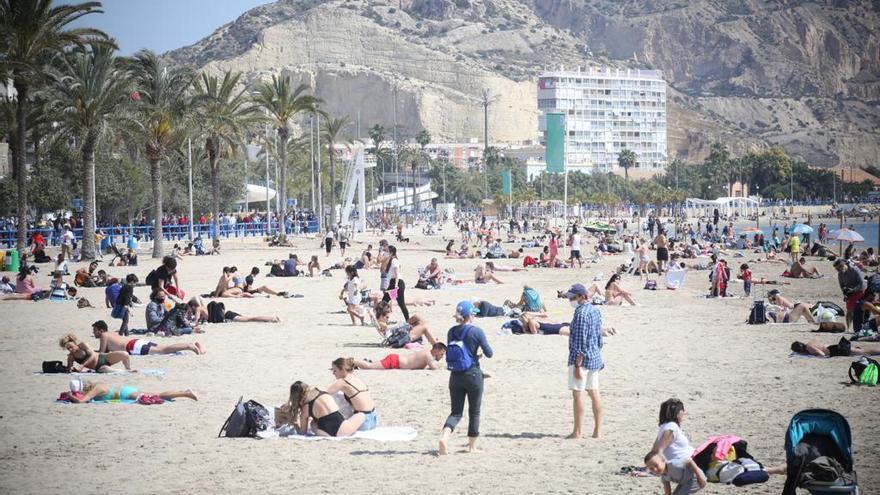 El tiempo en Alicante: de los 25 grados de hoy al desplome térmico de hasta diez grados este miércoles