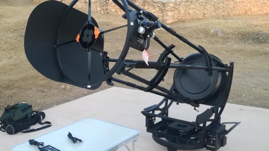 El Consell compra un nuevo telescopio para visitas escolares al observatorio de Cala d'Hort