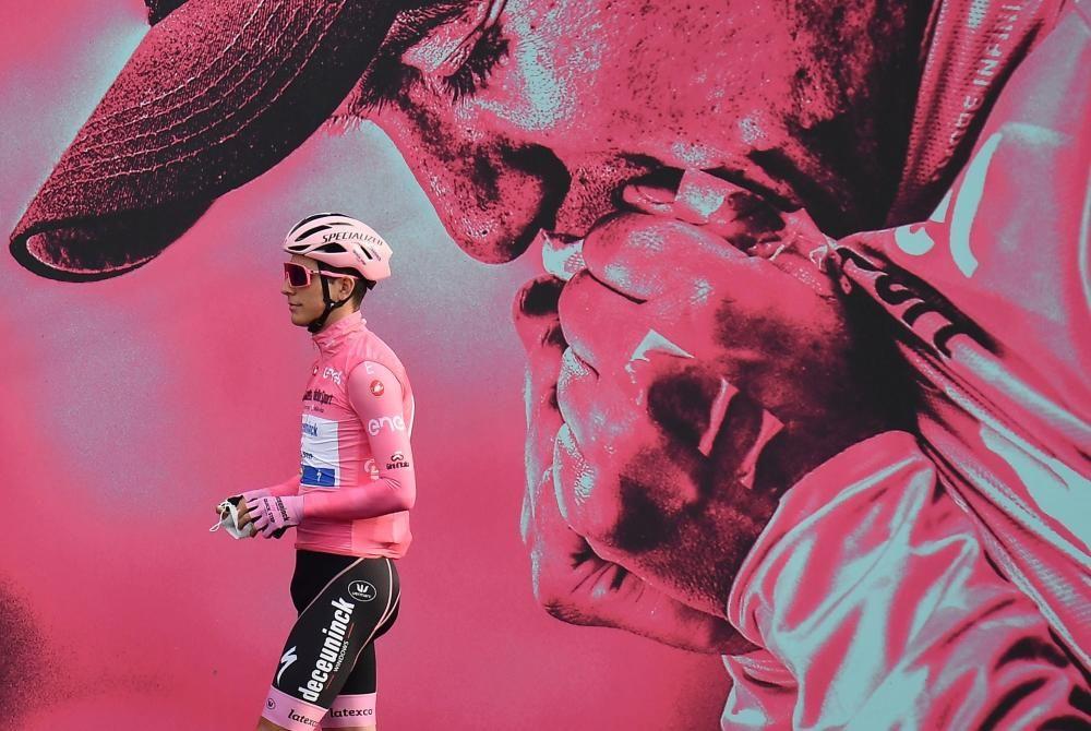 Las imágenes de la 16ª etapa del Giro de Italia