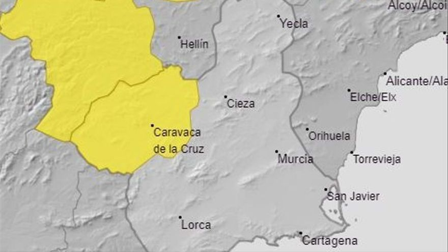 Alerta amarilla por tormentas en el Noroeste hoy y mañana