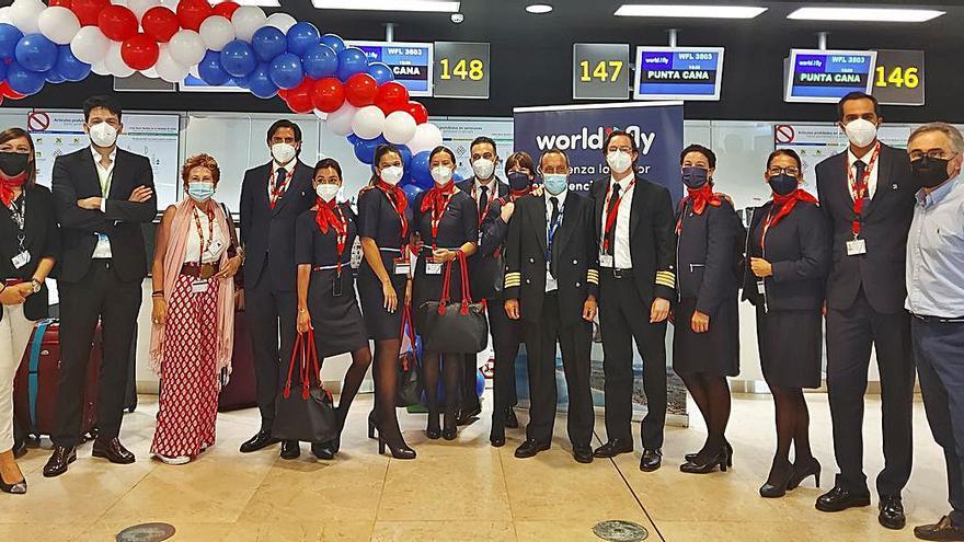 World2Fly despega hacia el Caribe